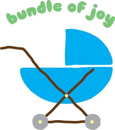 lad: Este carro de beb� es un regalo perfecto para su beb� adorable