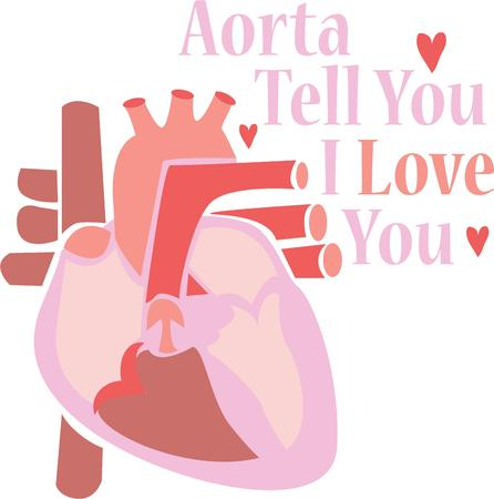 with aorta: Make a special valentine for a loved one.