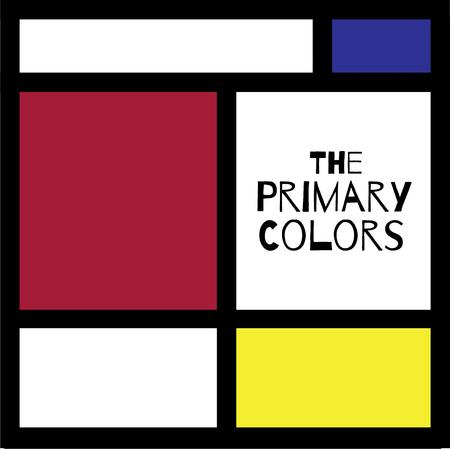primary color: Play with color block .Pick those design by Windmill. Illustration