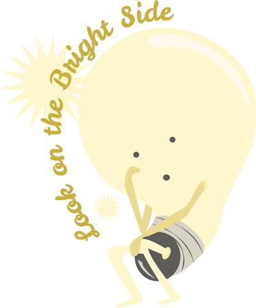 time to shine: If you have a silly idea show it off with this light bulb.