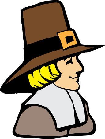 pioneer: C�l�brez le thanksgiving avec une grande d�coration de p�lerin.