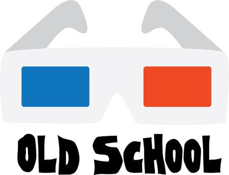 楽しんで: 3 D メガネで映画を見て楽しい時を過します。
