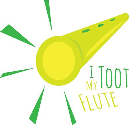 woodwind instrument: Without flute music is not complete. Pick those design by windmill.