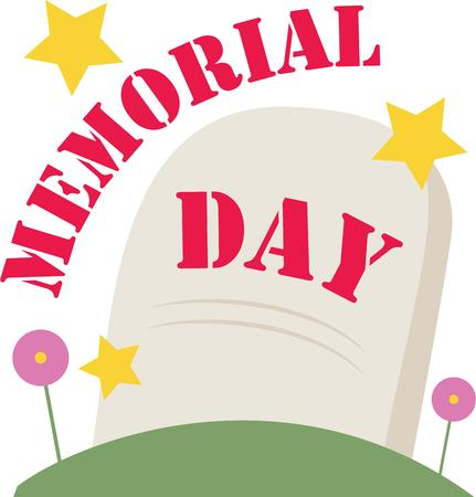 Veterans Memorial Service Clip Art