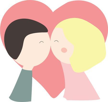 newlyweds: Newlyweds will enjoy this kissing couple on a tshirt.