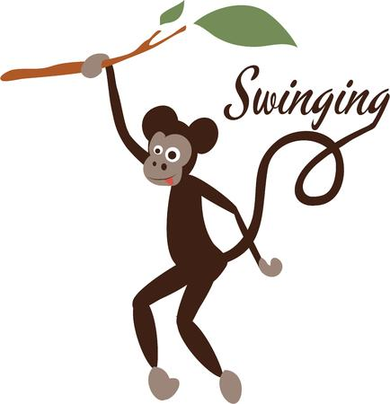 primate: Show off your sense of humor with a monkey on a shirt.