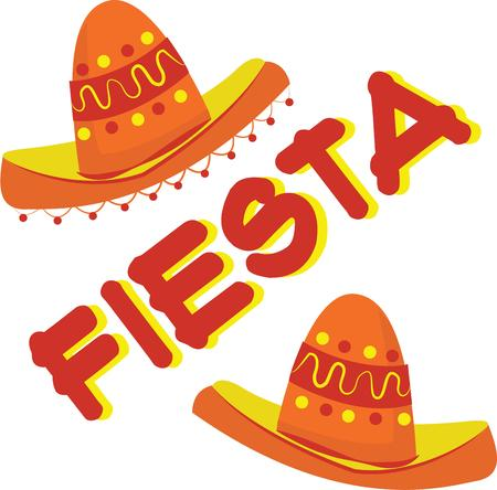 siesta: Accent a party with fiesta decor.