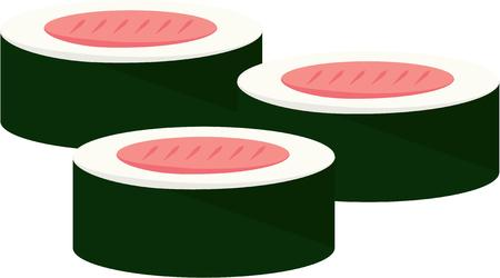nori: Accent your kitchen with delicious sushi.