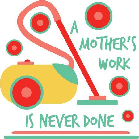 spazzatrice: Prendere in giro il lavoro domestico con una divertente dicendo.