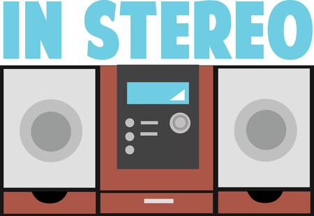 home accent: Accent your home with a great stereo.
