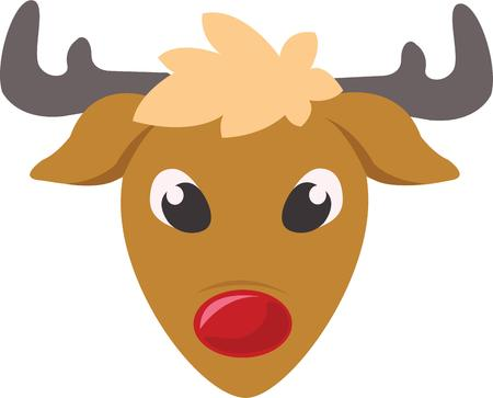 nosed: Rudolph is a classic Christmas decoration.