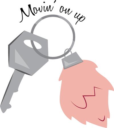 homeowner: This lucky keychain will be great for the new homeowner.