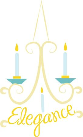 sconce: Decorate your home with a lovely candle sconce. Illustration