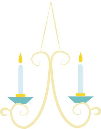 sconce: Decora tu casa con un hermoso aplique de vela.