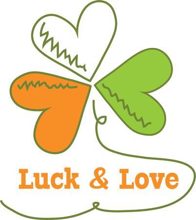 arrozal: Celebrar la fiesta irlandesa con un tr�bol. Vectores