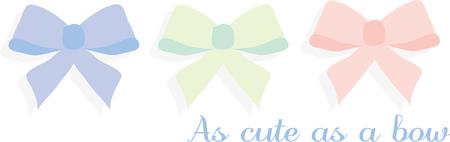 accessorize: Use this cute bow accessory design on your next project Illustration