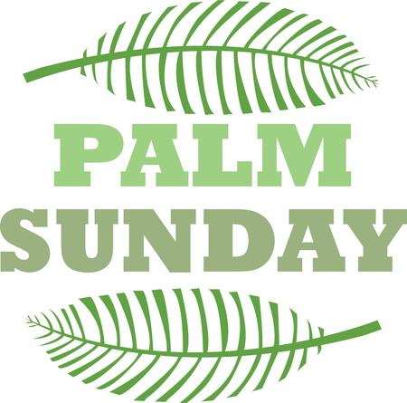 palm sunday: Make a great project for palm Sunday.