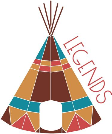 teepee: This teepee is sat apart from typical with vivid geometric color designs.  This is the teepee every pretend indian dreams of!