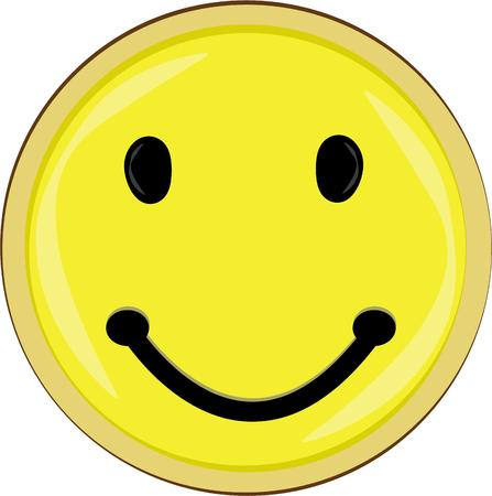 amused: A smiley face to brighten everyones day.