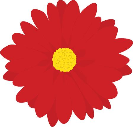 appeal: Our big, bright red flower adds special charm and appeal to your projects.  Use it on any project that needs a little lift!