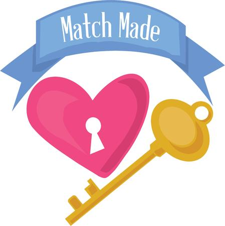 latchkey: Who holds the key to your heart  Use this big blue banner to display that special message!