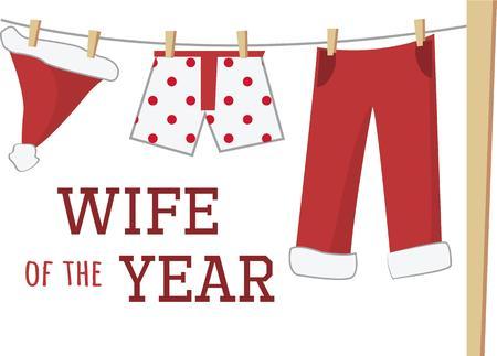 hung: Have fun at Christmas with doing Santas laundry.