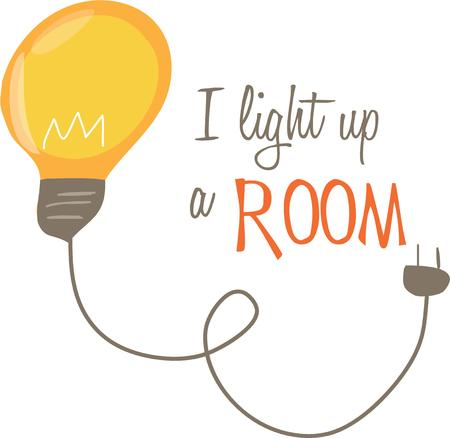 edison: Have a bright idea and show it off with a fun lightbulb.