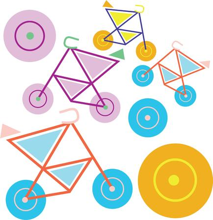 accessorize: use this wheels design for your clothes and accessorize