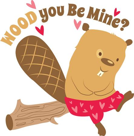 beavers: A valentine beavers will be best valentine gift for your sweetheart.