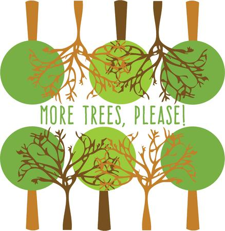 mother earth: Celebrate mother earth with a beautiful tree. Illustration