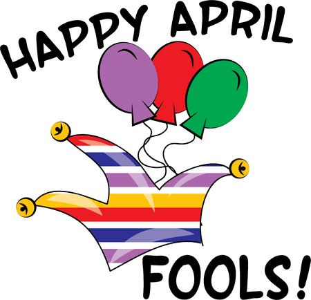 have fun: Have fun with a silly jester hat for an April fools project.