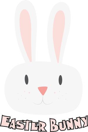 cottontail: Un conejito lindo es un cl�sico de la decoraci�n de Pascua.