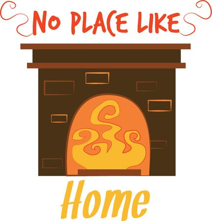 warm up: Warm up your dcor with a fireplace for your home.