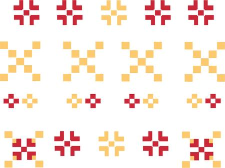 heirlooms: Accendere la vostra immaginazione Questo design capriccioso sar� perfetto su trapunte cuscini tovaglioli e altro Vettoriali