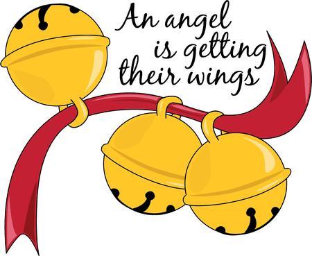 jingle bells: Jingle bells for a Christmas holiday. Illustration