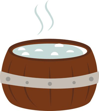 hot tub: Every tub must stand upon its bottom.