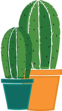 prickles: Plants add unique style and cheer to any space.  Get the spirit of spring on your projects with this design.