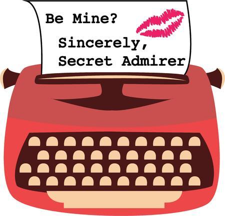 type writer: Una macchina da scrivere d'epoca � un modo divertente per inviare un messaggio speciale.