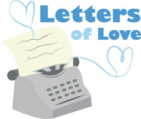 type writer: Invia un messaggio speciale con una macchina da scrivere d'epoca.