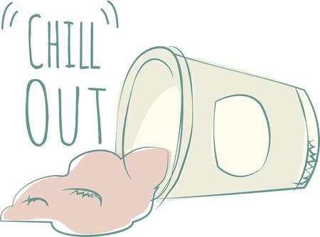 chill out: Nothing screams summer like an frozen yoghurt.  This design is perfect on bags tshirts and more.
