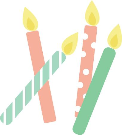 flambeau: Birthdays are not complete without candles  Indulge with these colorful festive and fun decorations on special occasion projects