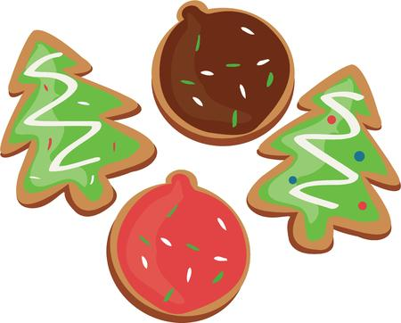 all love: We all love Christmas cookies.