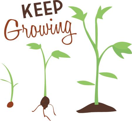 matter: You have to do your own growing no matter how tall your grandfather was. Illustration