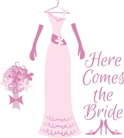 attire: Decorate a brides trousseau with lovely wedding attire.