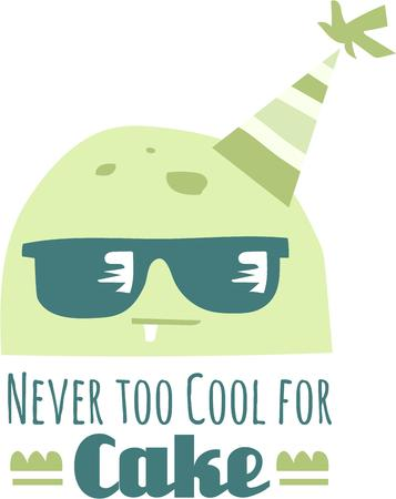 chic: Bring cool chic and add style to your projects for the fashionista with these funky sunglasses design Illustration