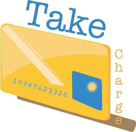 visa credit card: Take this card shopping on a tote bag.