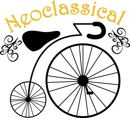 wheeler: Accent any project with a lovely antique bike.