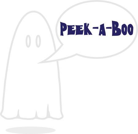 specter: This design will make a wonderful Halloween decoration.