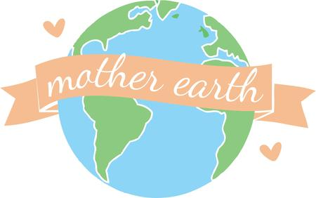 terra: Make every day an earth day with our wonderful world design on reusable grocery totes sweatshirts and other gifts. Illustration