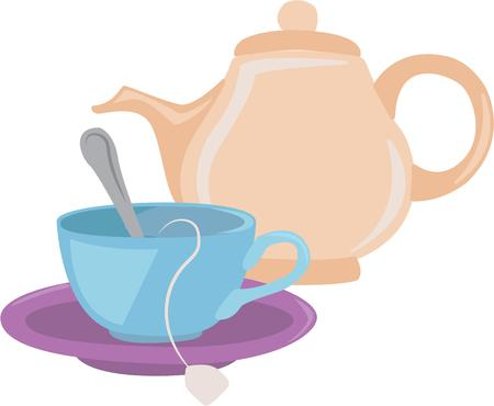 steamy: Nothing like a cup of hot tea to start your day  This colorful design will be hot and steamy on cozies kitchen towels and more.